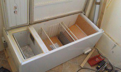 Шкаф для хранения овощей зимой своими руками 5