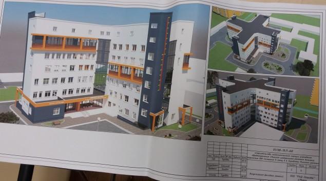 Новая поликлиника в Боровлянах